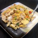 Southwest Cheesy Chicken Casserole