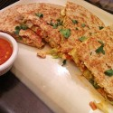 Spicy Thia Chicken Quesadillas